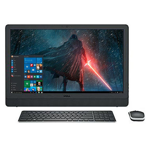 "2017 Newest Dell Business Flagship 23.8"" Full HD Touchscreen 1920x1080 All-In-One Desktop PC Intel i7-7500U Processor 12GB DDR4 RAM 1TB HDD DVD-RW Webcam HDMI Bluetooth 802.11AC WiFi Windows 10-Black"