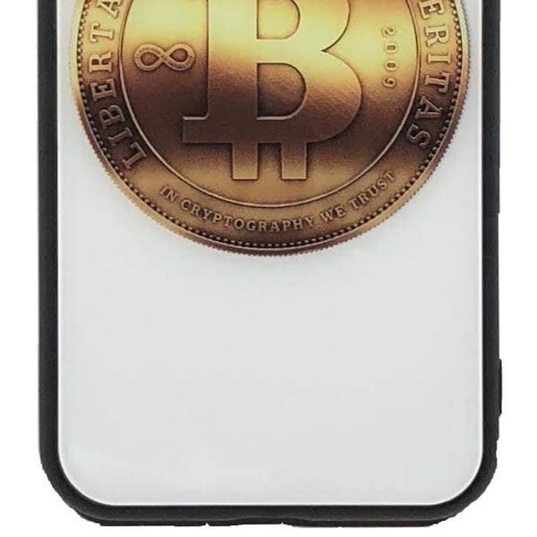 Bitcoin iPhone Case (Black, iPhone 7/8)