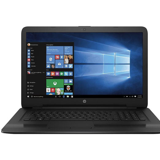 "HP High performance 17.3"" HD+ WLED-backlit Laptop, 7th Gen Intel i5-7200U 2.5G Hz Processor, 12GB DDR4, 1TB HDD,DVD Burner, WiFi, Webcam, HDMI, USB 3.1, Intel HD Graphics 620, DTS Sound, Windows 10"