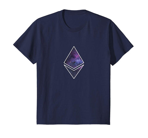 Ether Deep Space Diamond Tee Shirt | Spread the ETH love