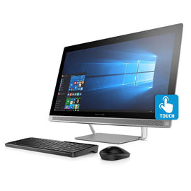 HP Pavilion Full HD IPS 23.8-Inches Touchscreen All-in-One Desktop(Quad Core Intel i7-6700T Processor 2.8 GHz, 8GB DDR4 RAM, 1TB 7200RPM HDD, DVD, Bluetooth, Webcam, HDMI, 802.11AC, Windows 10)