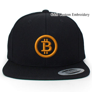 d6d77c912331a G B Custom Embroidery Bitcoin Hat