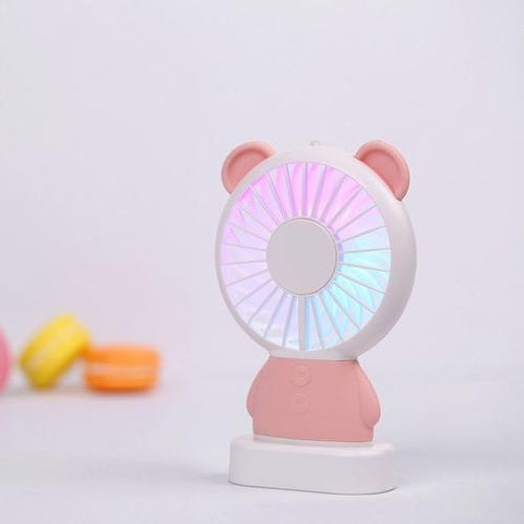Mini USB Fan cool air conditioner rechargeable fan