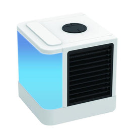 Personal Space Air Cooler Portable Air Conditioner Fan Mini Desk Cooling Fan USB Evaporative Air Cooler
