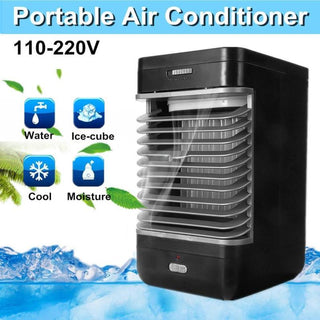 Mini Air Conditioner Fan Personal Space Cooler Quick Easy Way to Cool Any Space Air Conditioner Device Home Office Desk