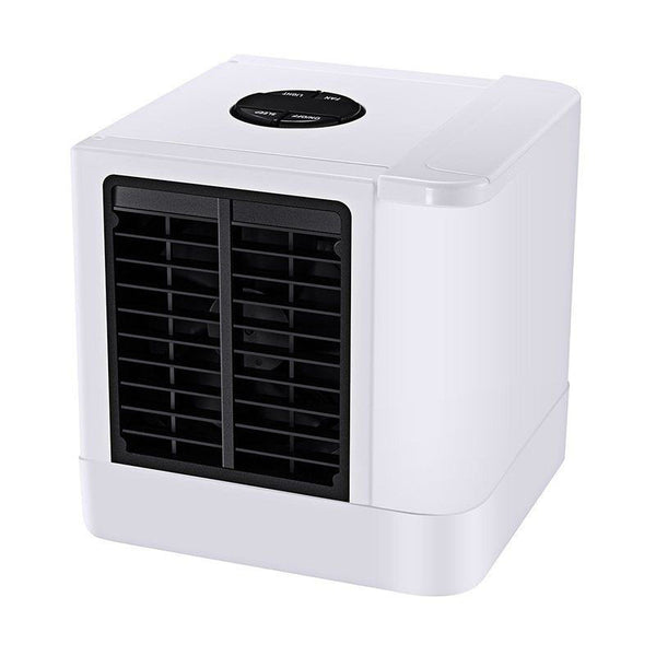 3 In 1 Air Cooler Purifier Humidifier Fan Low Noise Home 7 Color Light