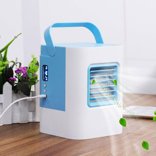 gadget usb fan Cooler gadgets cool USB Air Conditioner Air Cooler Home Office Desk Cooler Cooling Bladeless Fan dropshipping