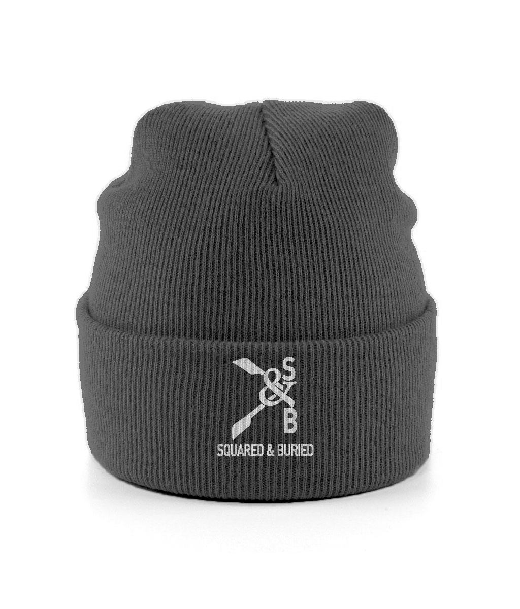 CUFFED S&B ROWING BEANIE - British Rowing Apparel - Squared & Buried