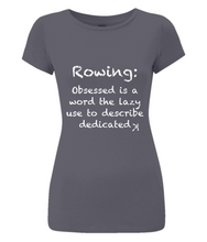 DEDICATED ROWER ORGANIC SLIM FIT T-SHIRT - British Rowing Apparel - Squared & Buried