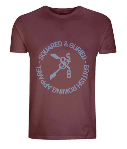 GREVILLE ORGANIC T-SHIRT - British Rowing Apparel - Squared & Buried
