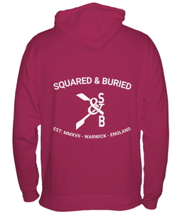 NEVILLE FULL ZIP HOODIE - British Rowing Apparel - Squared & Buried