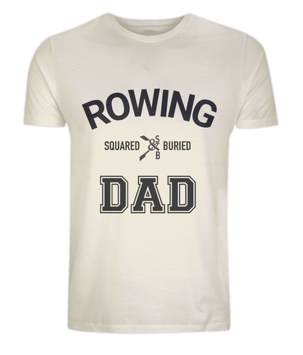 ROWING DAD ORGANIC T-SHIRT - British Rowing Apparel - Squared & Buried