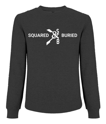 DUDLEY RAGLAN ORGANIC SWEATSHIRT - British Rowing Apparel - Squared & Buried