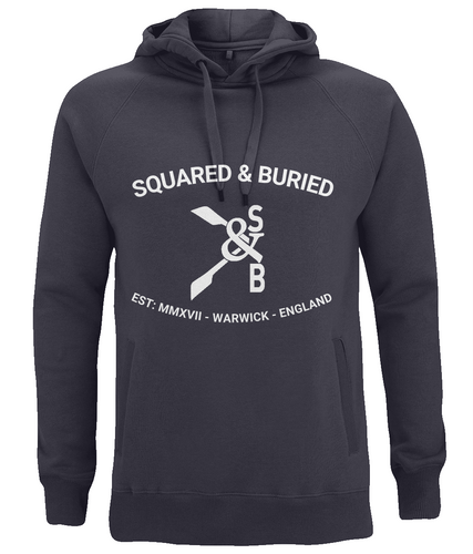 NEVILLE ORGANIC PULLOVER HOODIE - British Rowing Apparel - Squared & Buried
