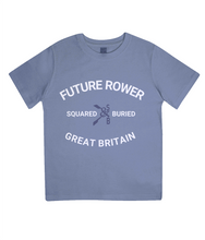 ORGANIC JUNIOR FUTURE ROWER T-SHIRT - British Rowing Apparel - Squared & Buried