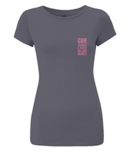 GBR ON LAND SERIES ORGANIC SLIM FIT T-SHIRT - British Rowing Apparel - Squared & Buried