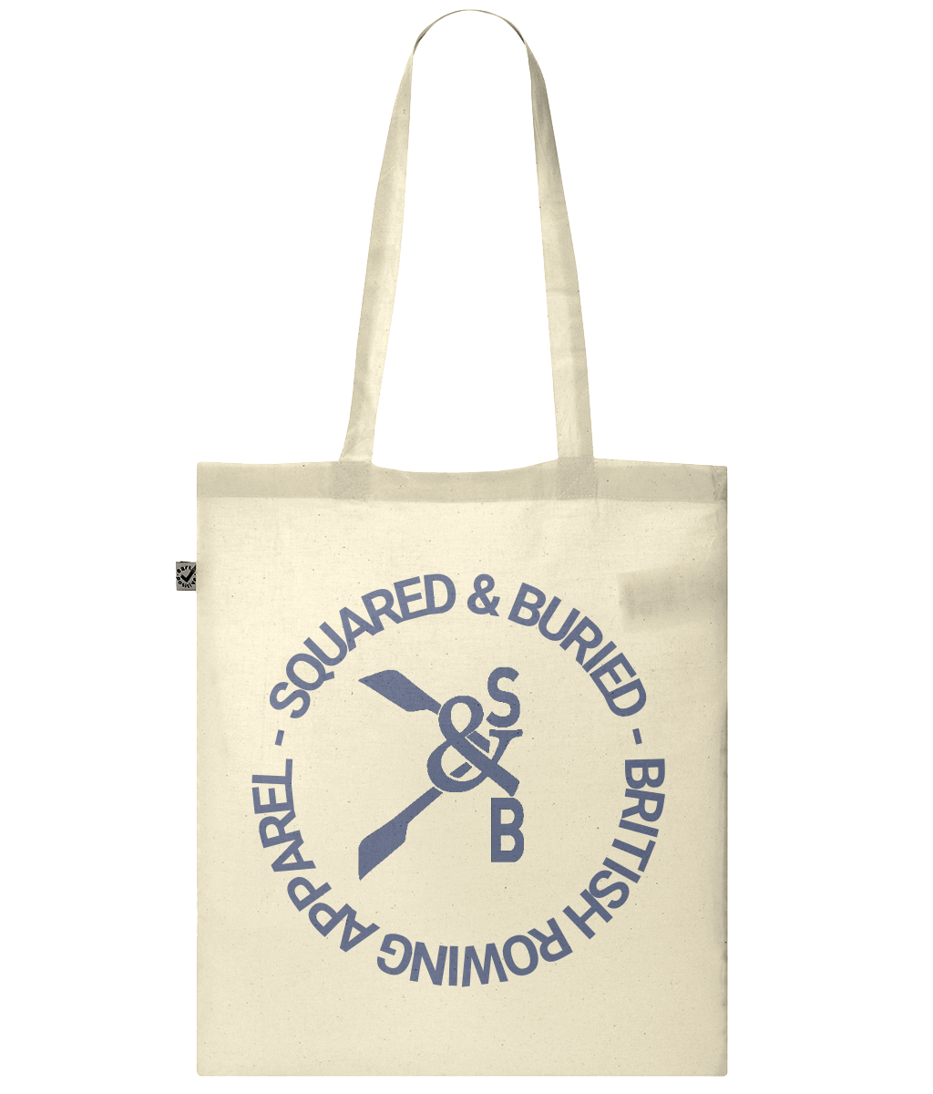 CLASSIC GREVILLE ORGANIC SHOPPER TOTE BAG - British Rowing Apparel - Squared & Buried