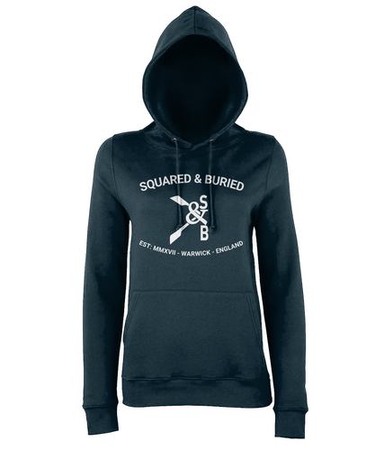 COLLEGE STYLE NEVILLE GIRLIE HOODIE - British Rowing Apparel - Squared & Buried