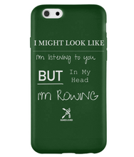 iPhone 6S PHONE CASE ROWING/NOT LISTENING - British Rowing Apparel - Squared & Buried