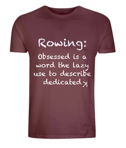 DEDICATED ROWER ORGANIC T-SHIRT - British Rowing Apparel - Squared & Buried