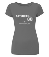 ATTENTION.. GO! SLIM FIT ORGANIC T-SHIRT - British Rowing Apparel - Squared & Buried