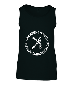 MENS GREVILLE ROWING TANK TOP - British Rowing Apparel - Squared & Buried