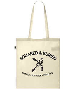 CLASSIC NEVILLE ORGANIC SHOPPER TOTE BAG - British Rowing Apparel - Squared & Buried