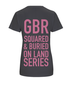 GBR ON LAND SERIES ORGANIC T-SHIRT - British Rowing Apparel - Squared & Buried