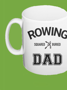 ROWING DAD MUG - British Rowing Apparel - Squared & Buried