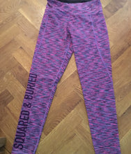 CLARENCE PINK PERFORMANCE LEGGINGS - British Rowing Apparel - Squared & Buried