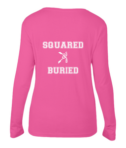 ATTENTION...GO! LONG SLEEVE T-SHIRT - British Rowing Apparel - Squared & Buried