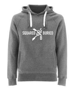 DUDLEY ORGANIC COLLEGE STYLE HOODIE - British Rowing Apparel - Squared & Buried