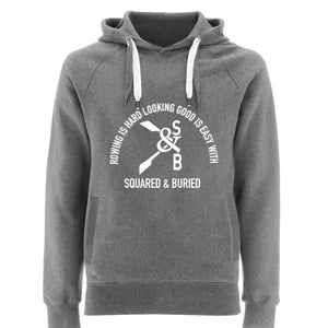 BEAUCHAMP ORGANIC PULLOVER HOODIE - British Rowing Apparel - Squared & Buried