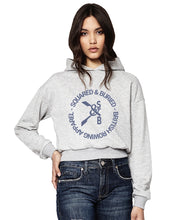 GREVILLE CROPPED HOODIE - British Rowing Apparel - Squared & Buried