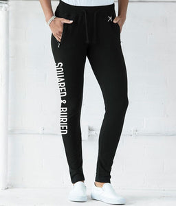 LADIES SKINNY SLIM TAPERED JOGGERS - British Rowing Apparel - Squared & Buried