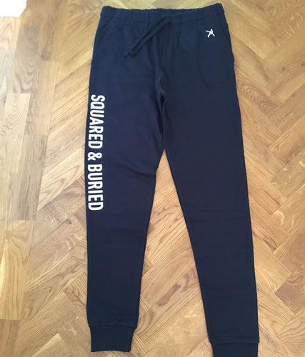 DUDLEY MENS TAPERED SOFT SLIM JOGGERS - British Rowing Apparel - Squared & Buried