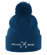 POM POM SQUARED & BURIED BEANIE - British Rowing Apparel - Squared & Buried