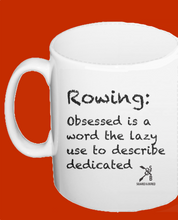OBSESSED WITH ROWING MUG - British Rowing Apparel - Squared & Buried