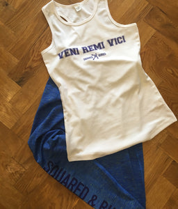 VENI REMI VICI PERFORMANCE VEST TOP - British Rowing Apparel - Squared & Buried