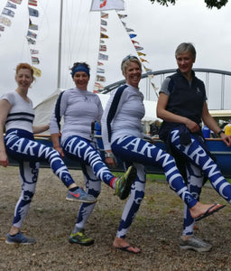 CUSTOMISED LEGGINGS - British Rowing Apparel - Squared & Buried