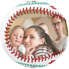 Photo Baseball Gift-BC005C-Happy Father's Day-Best Father In The World-2020