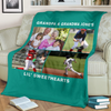 Lovely Baseball Blanket for Grandparents Personalized - GFI0000P2c