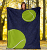 Tennis Personalized Blanket - GFI0005P1