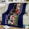 Lovely Softball Blanket for Friends Personalized - GFI0004P2b