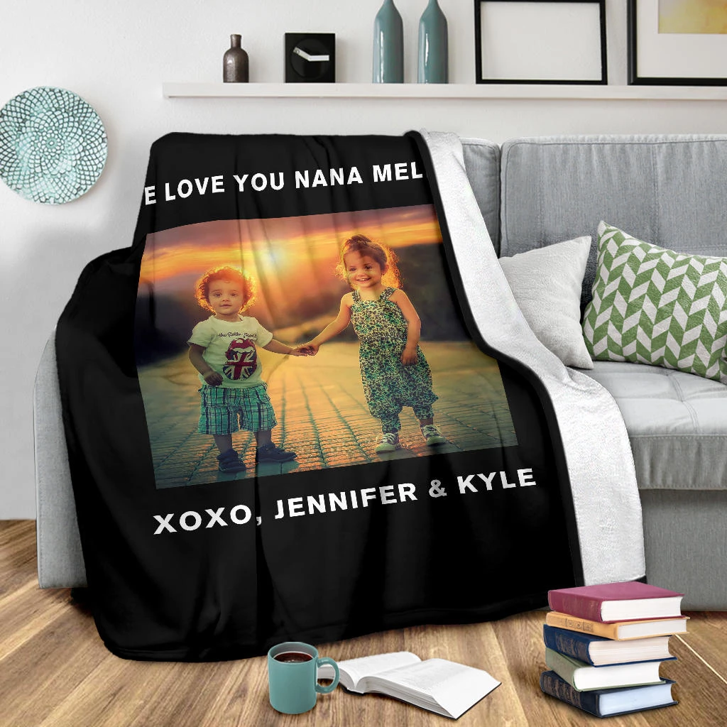 Lovely Christmas Blanket for All Personalized - GFI0007P1