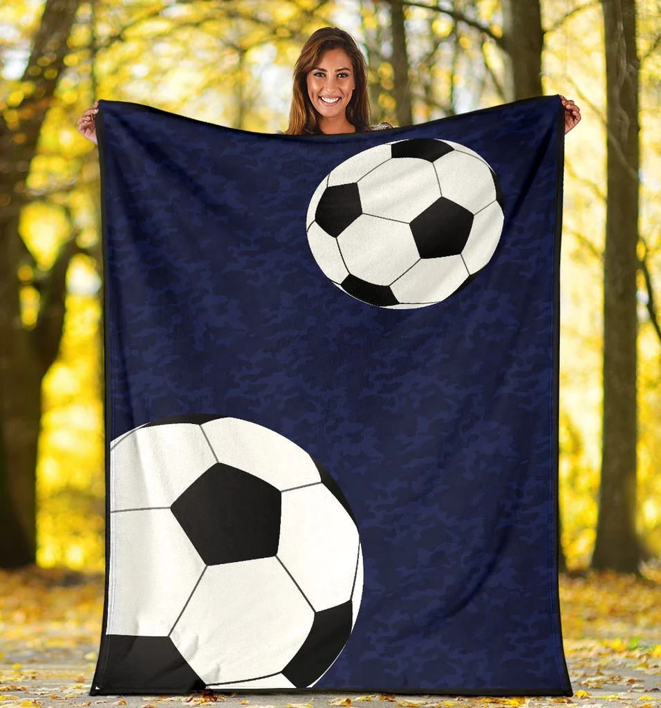 Soccer Personalized Blanket - GFI0003P1