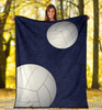 Volleyball Personalized Blanket - GFI0006P1