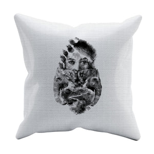 Russell Powell Throw Pillow | 500 LEVEL