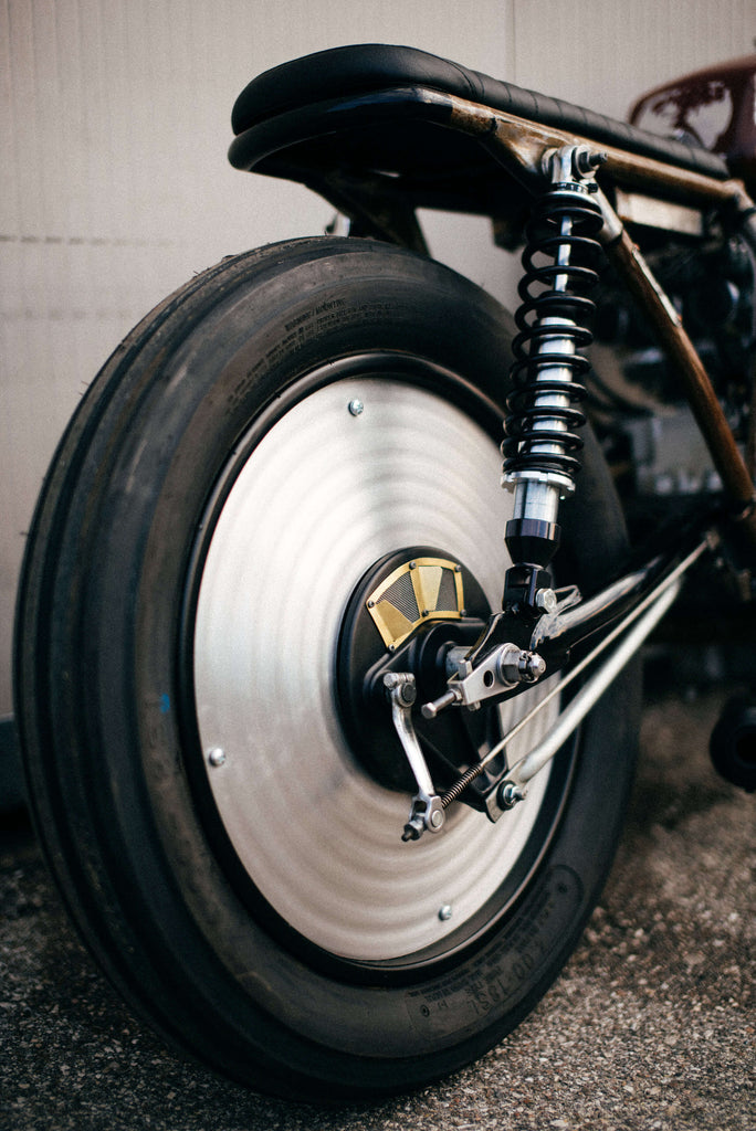Apache Custom Motorcycles Honda CB 350 Four 1976 wheel tire