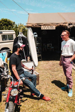apache custom motorcycles wheels and waves 2019 biarritz stand